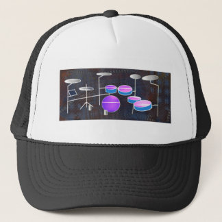 Drum Beat Trucker Hat