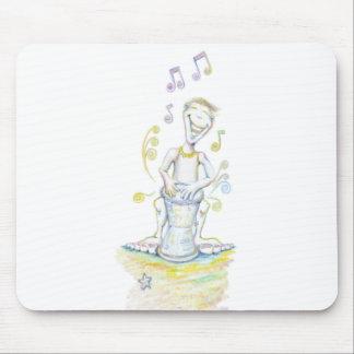 Drum Beats Mouse Pad