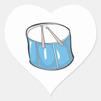 drum blue handdrawn look.png heart sticker