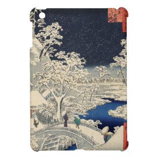 Drum Bridge at Meguro and Sunset Hill. Case For The iPad Mini