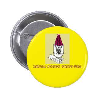 Drum corps button