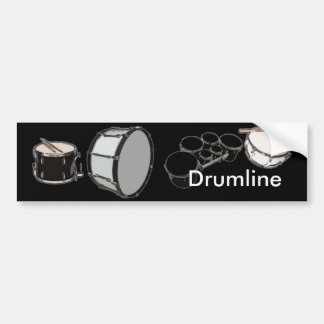 Drum Corps - Marching Band - Drumline Bumper Sticker