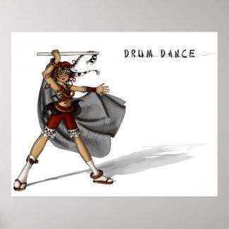 Drum Dance Poster