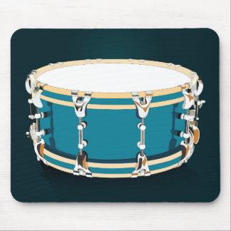Drum - Dark Blue Mousepad