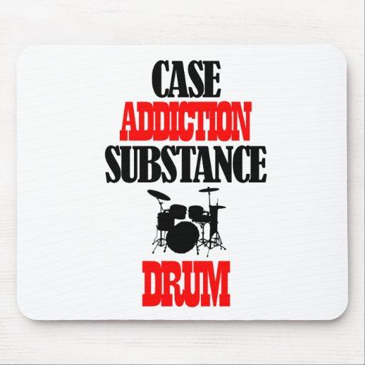 Drum designs mouse pads