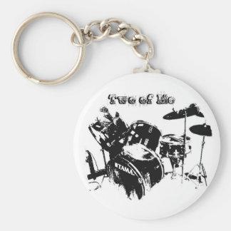 Drum Emblem Keychain