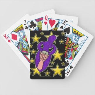 Drum Goddess Playing Cards