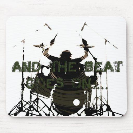 Drum Hero Mousepad