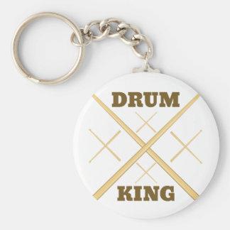 Drum King Keychain