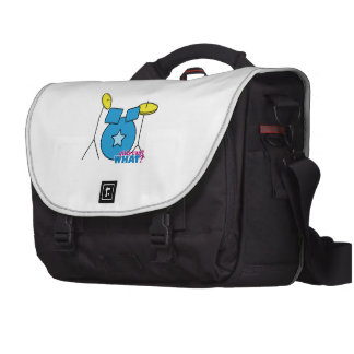 Drum Kit Laptop Commuter Bag