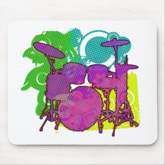 drum kit mouse pads