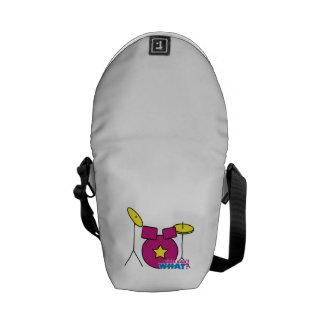 Drum Kit -  Pink Courier Bag