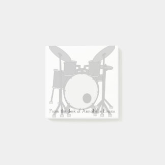 Drum Kit Post-it Notes