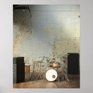 Drum Kit Posters