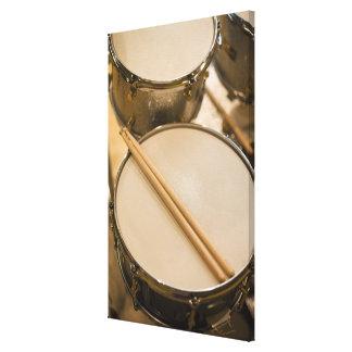 Drum Kit Stretched Canvas Prints