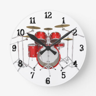 Drum Kit: Wall Clock