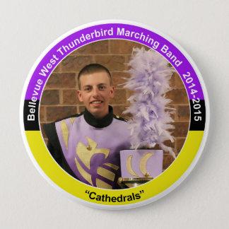 Drum Line NP (2015) 4 Inch Round Button