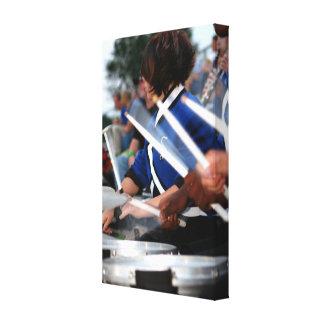 Drum Line Wrapped Canvas Canvas Prints