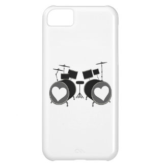 Drum Love Cover For iPhone 5C