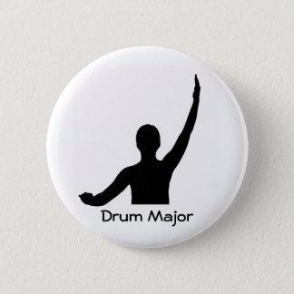 Drum Major 2 Inch Round Button