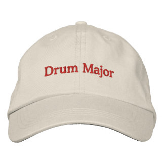 Drum Major Embroidered Baseball Cap