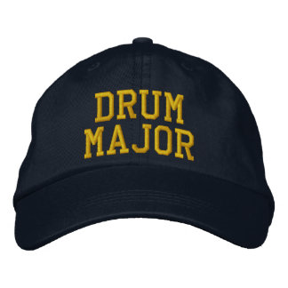 DRUM MAJOR EMBROIDERED HAT