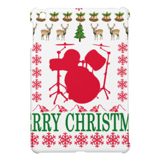 DRUM MERRY CHRISTMAS . iPad MINI COVER