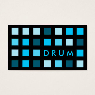 DRUM (mod squares) Business Card