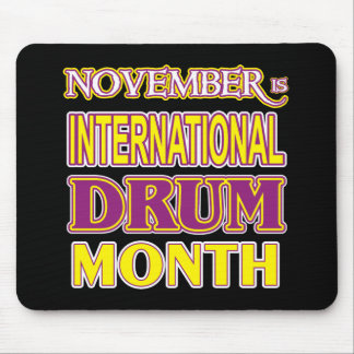Drum Month Mouse Pad