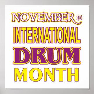 Drum Month Print
