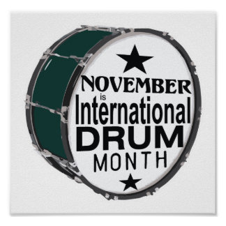 Drum Month Posters