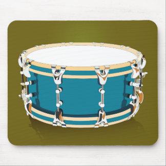 Drum - Navy Mousepad