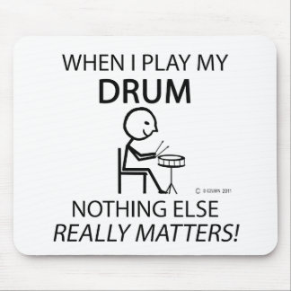 Drum Nothing Else Matters Mouse Pad