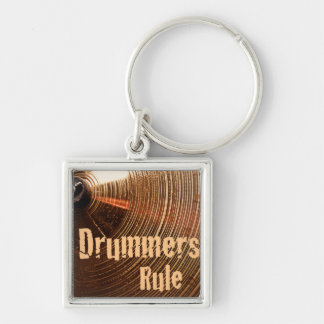 Drum or Drummer Keychain or Key Chain
