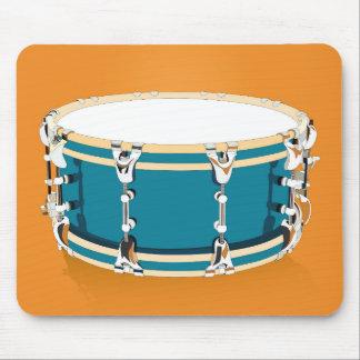 Drum - Orange Mousepad