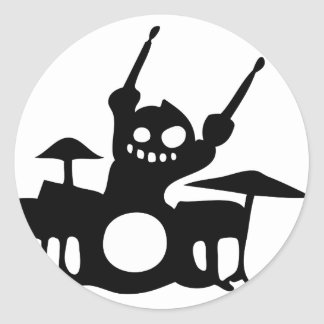 drum.png classic round sticker