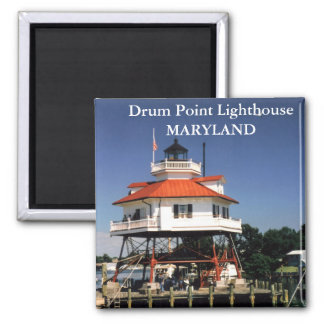 Drum Point Lighthouse, Maryland Magnet