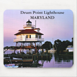 Drum Point Lighthouse, Maryland Mousepad
