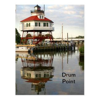(Drum Point Lighthouse Postcard