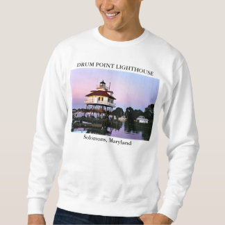 Drum Point Lighthouse, Solomons Maryland Sweatshirt