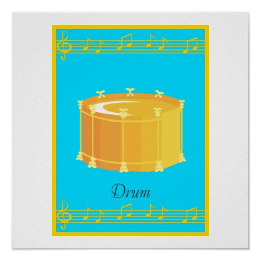 drum posters
