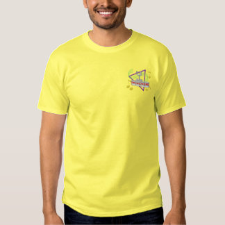 Drum Quad Embroidered T-Shirt