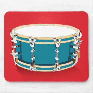 Drum - Red Mousepad