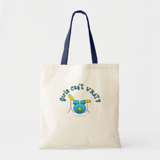 Drum Set - Blue Canvas Bags