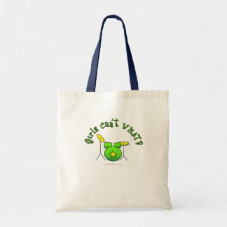 Drum Set - Green Canvas Bags