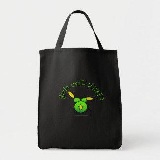 Drum Set - Green Canvas Bag