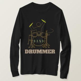 Drum Set Men's Basic Long Sleeve T-Shirt