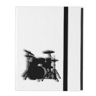 Drum Set Music Design iPad Cover
