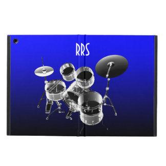 Drum Set Personalized Monogram Gift iPad Air Cases