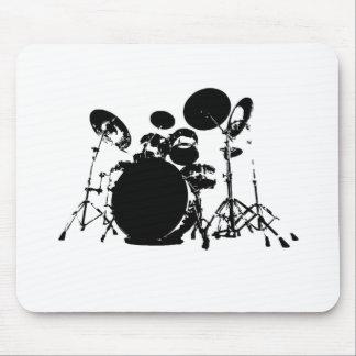drum set PNG Mouse Pad